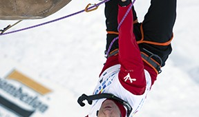 Ice Climbing and the Hope of Sochi Olympic Flame